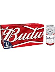 Budweiser Beer, 18 x 440 ml