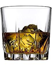 Passaro Whisky Glasses Set of 6 (Whisky Tumbler Scotch Glasses, 310 ML) PS-35