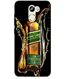 For Gionee X1 Wine Bottle ( Wine Bottle, Wisky, Wine, Beer, Bottle ) Printed Designer Back Case Cover By Living Fill