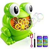 Ulmisfee Bubble Machine Automatic Frog Bubble Blower Machine Make Over 500 Bubbles per