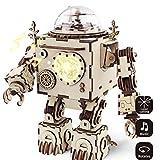 LoKauf Roboter Modell DIY 3D Puzzle mit Spieluhr