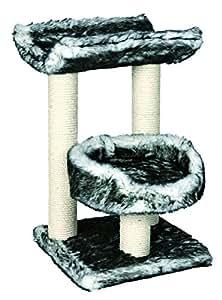 trixie arbre chat isaba noir blanc 62 cm animalerie. Black Bedroom Furniture Sets. Home Design Ideas