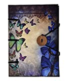 #7: Craft Play Binding Butterfly with Button Diary, 18 cm x 13 cm x 2.5 cm