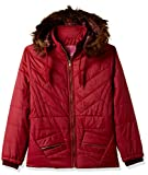 Qube By Fort Collins Girls' Jacket (18105 FA_Red_26(6 - 7 years))