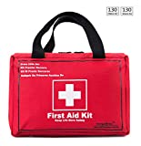 Best Adventure Medical Kits Adventure Medical Kits Adhesive Bandages - 130 Piece Premium First Aid Kit Bag, Be Review