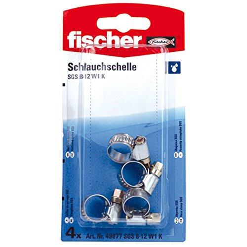W1 Sb (fischer 49877 Schlauchschelle SGS 8-12 W1 K SB-SaMo)