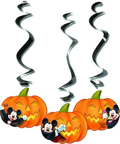 Rotorspiralen Mickey Mouse Halloween 3 Stück Halloween (Mickey Halloween Mouse)