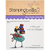 "Stamping Bella Cling Stamp 6.5""X4.5""-Tiny Townie Bree Loves Buttercream"