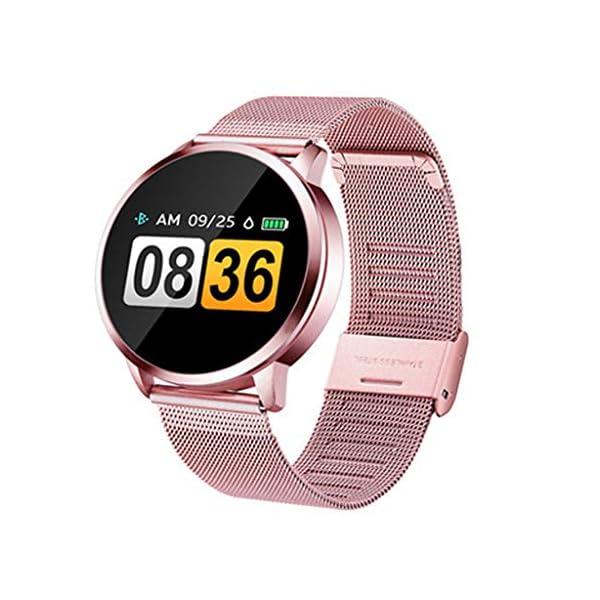 Smartwatch Compatible con Q8 V09 Reloj Inteligente Monitor de Sueño, Anti-pérdida, Podómetro, Pulsómetros Podómetro… 1