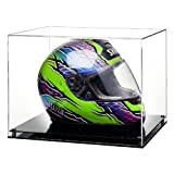 widdowsons Display Fällen Crash Helm DISPLAY CASE mit einer schwarz Modern Boden, Acryl, 40.8 x 33,3 x 30,8 cm