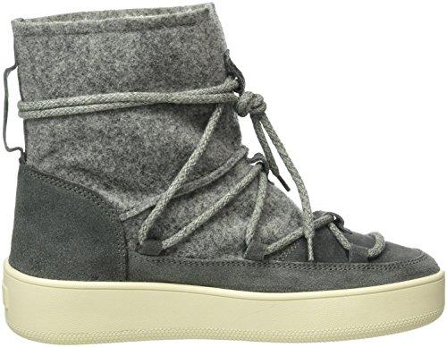 Napapijri Damen Nova Schlupfstiefel Grau (Dark Grey N88)