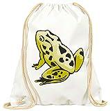 'Turn Bolsa 'Rana pie ranas animales pequeños Estanque con cordón-100% algodón de bolsa...