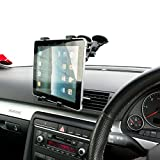 Ultimateaddons® Dual Vehicle Windscreen Mount Holder for Apple iPad 2 3 4 Air 9.7' Tablet PC