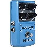 ammoon NUX MOD CORE DELUXE Guitarra Eléctrica Multi-modulación Efecto Pedal con 8 Efectos de Modulación Chorus / Flanger / Phaser / Trémolo / Rotary / Pan / U-Vibe / Vibrato
