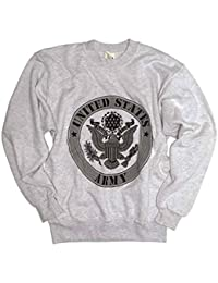 Mil-tec uS aRMY-sweat-shirt-homme-gris