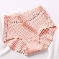 LTHH Womens Baumwolle Mid-Rise Höschen Mädchen einfarbig Bequeme Slips
