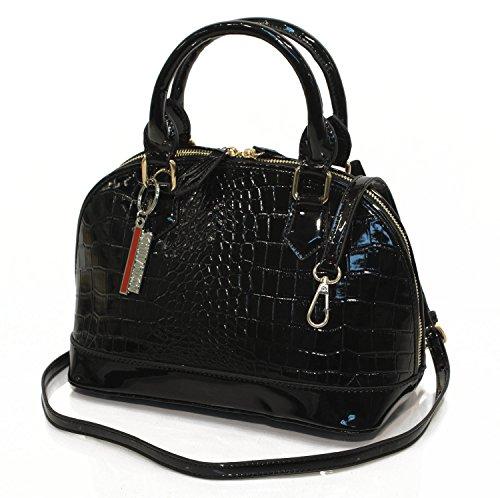 Designer Handtasche  Sofia Navy Blau