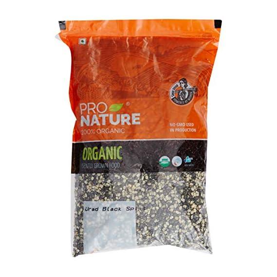 Pro Nature 100% Organic Urad Black Split, 1kg