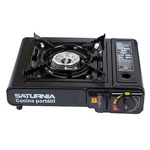 Foto de Saturnia 08140120 - Cocina de gas portátil, color negro