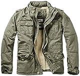 Brandit Herren Jacke Britannia Winter, Grün (Oliv 1), XXXXX-Large