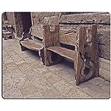 liili Mouse Pad de goma natural mousepad imagen ID 33116024Vintage Madera–Banco para exterior