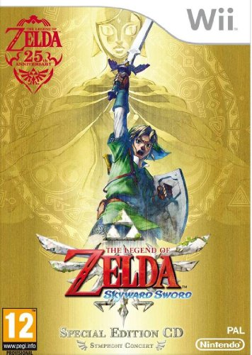 Foto The Legend Of Zelda: Skyward Sword con CD Colonna Sonora