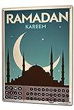 Dauer Wand Kalender Religion Ramadan Kareem Metall Magnet