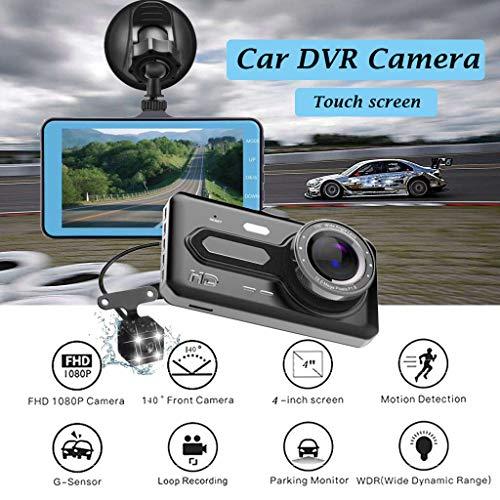Cámara llena del Video de la cámara del vehículo de DVR del coche de HD 1080P Con la pantalla de 4 pulgadas (De Camaras Video Hd)
