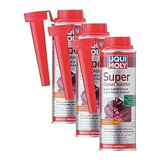 3x LIQUI MOLY 5120 Super Diesel Additiv Kraftstoff Zusatz 250ml