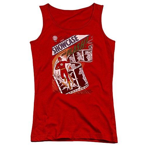 Justice League - des jeunes femmes Showcase # 4 le Tank Top Cover red
