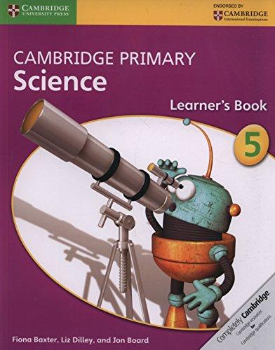 Cambridge primary science. Learner's book. Per la Scuola media. Con espansione online: 5 por Joan Board