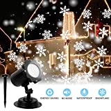 Luci per proiettori a LED, impermeabile a cascata Luci esterne per esterni Proiettore per esterni per interni Luci per esterni per decorazioni per feste di compleanno