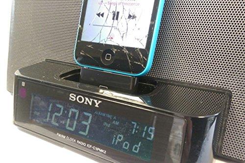 Blitzadapter für iPhone 5/ 5c an eine Sony Lautsprecherstation Dream Machine ICF-C1iP Sony Ipod Video