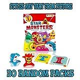 Star Monster + 2 muñecos Display 30 Sobres