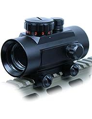 Spike Lunettes de visée Tactical 1X30 Vert / Red Dot Sight 5 MOA Réticule Portée w / 20mm Rail Mount Airsoft Chasse