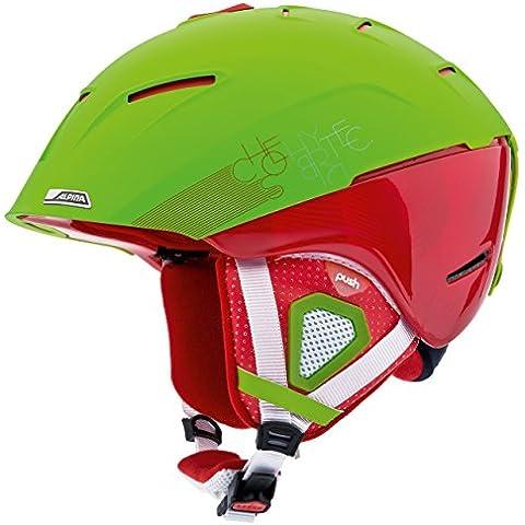 Alpina Cheos A9058225 - Casco da sci, colore Multicolore (