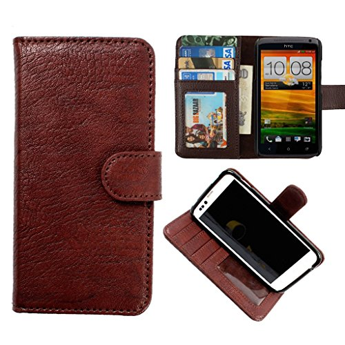 Onkarta HORIZONTAL LEATHER CARRY CASE for Micromax Yu Yureka MOBILE POUCH RICH COVER HOLDER (Black)