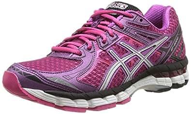 ASICS Gt-2000 2, Women Training Running Shoes, Red (3693-Purple/Silver/Raspberry), 5 UK (38 EU)