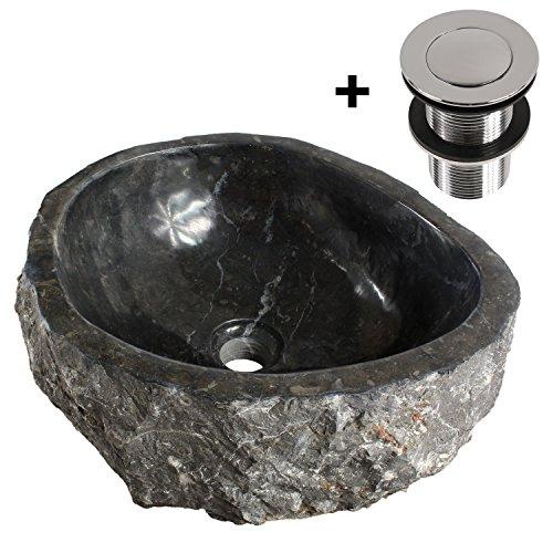 Marmorwaschbecken Waschbecken Stein Aufsatzwaschbecken Beige Marmor