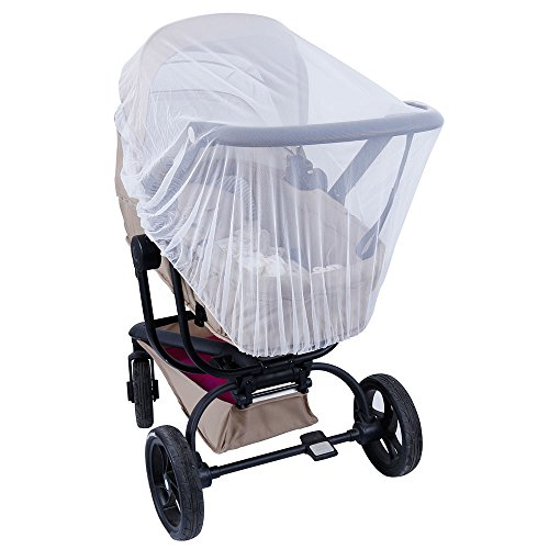 Lictin Mosquitera para Cochecito Bebé Universal Cubierta Protección Ideal Contra Avispas Insectos y Mosquitos Resistente y Lavable
