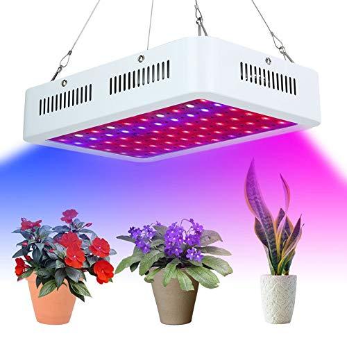 Galleria fotografica Pennytupu Lampada da 600W LED a Crescita progressiva Lampada idroponica Portatile per la Crescita Completa Lampada per Piante a Spettro Completo Accessori per Serra Resistenti Presa UK