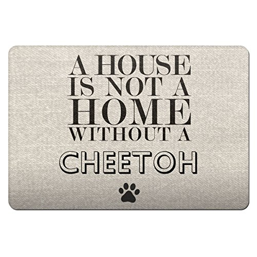 A House Is Not A Home Without A cheetoh Pet Bowl Feeding Matte 142 (Cheetoh Katzen)