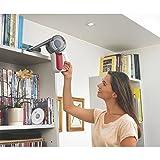 Black+Decker 10.8V Lithium Akku-Handstaubsauger Dustbuster Pivot, Handsauger beutellos, verstellbare Saugposition, geräuscharm und leicht, inkl. Fugendüse, Polsterbürste und Wandhalterung, PV1020L