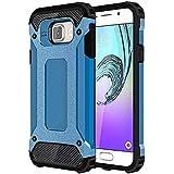 UKDANDANWEI Samsung Galaxy A5 (2016) Coque - Armor Série Silicone Antichoc Etui Housse pour Samsung Galaxy A5 (2016) - Bleu