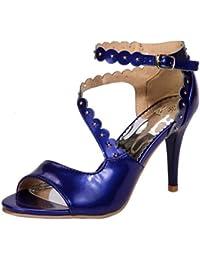 AicciAizzi Mujer Punta Abierta Sandalias Zapatos  Zapatos de moda en línea Obtenga el mejor descuento de venta caliente-Descuento más grande