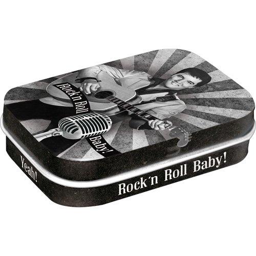 Nostalgic-Art 81275 Celebrities - The King - Rock\'n Roll Baby, Pillendose