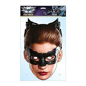 Générique-ma1308-Máscara Catwoman-cartón-Talla única