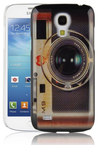 JAMMYLIZARD | Custodia Vintage Cover Retrò per iPhone 4 e 4S CUPCAKES Leica Camera