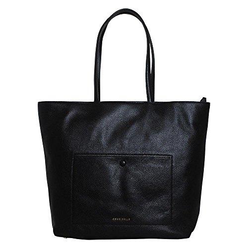 Coccinelle Odette Shopper Borsa tote pelle 40 cm black_noir, schwarz
