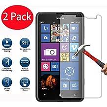 2 Pack - Nokia Verre Trempé, Vitre Protection Film de protecteur d'écran Glass Film Tempered Glass Screen Protector Pour Nokia